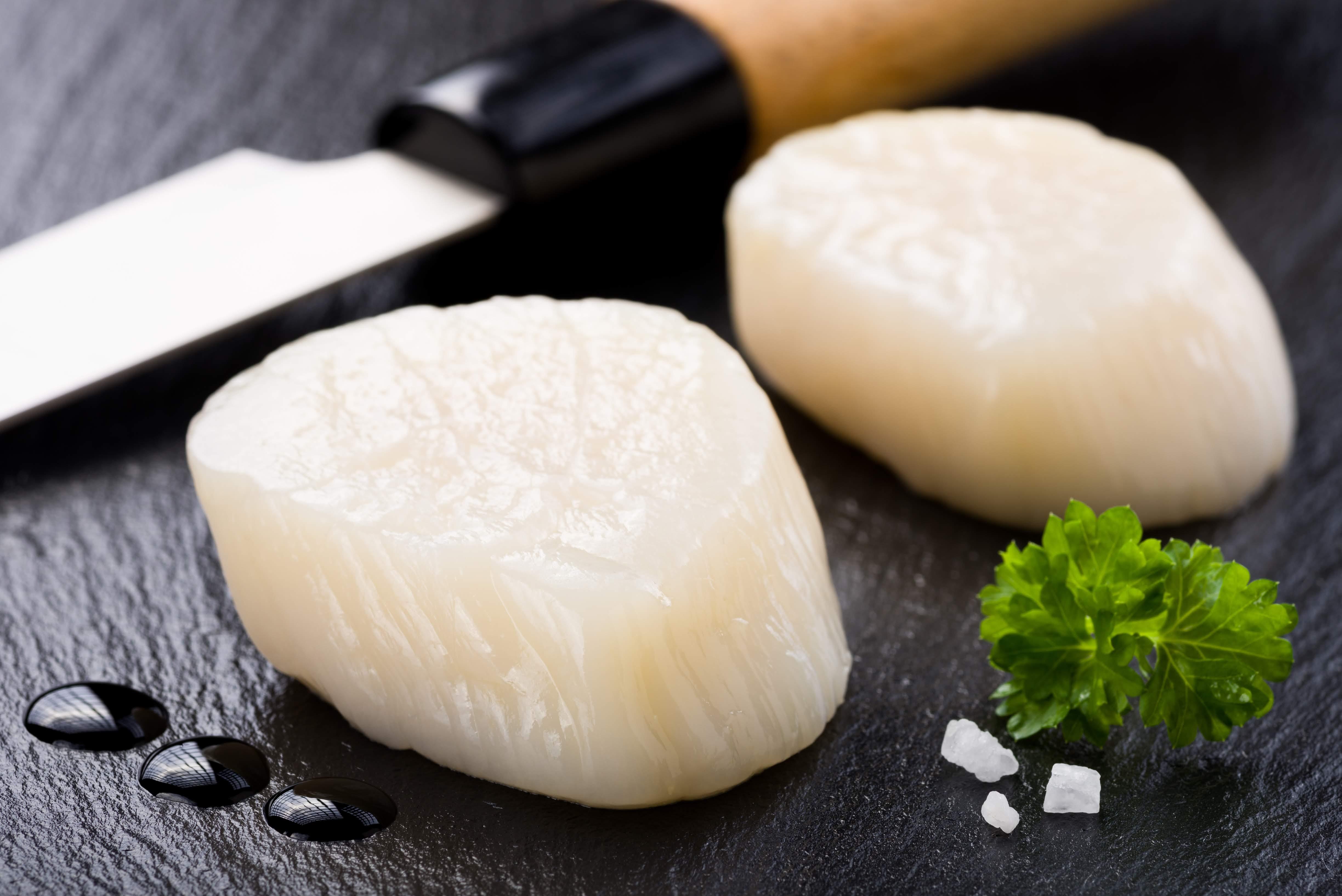 生食級大干貝 (S級8粒/包)